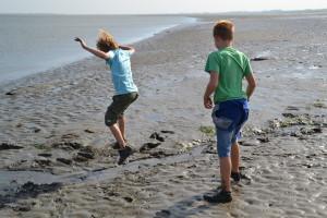 Balgzand excursie kinderen wadlopen sept11 Lieanne Piet (15)